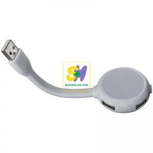 20657 - 4 portos USB-Hub lámpával
