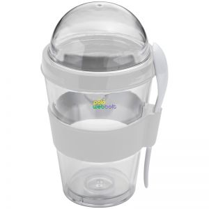 80683 - Műanyag joghurtos pohár