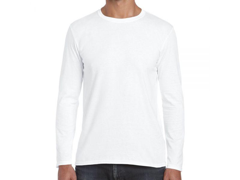 Gildan SoftStyle hosszú ujjú pamut póló