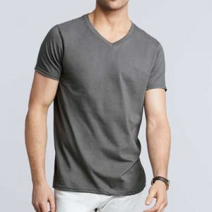 Gildan SoftStyle férfi v-nyakú pamut póló