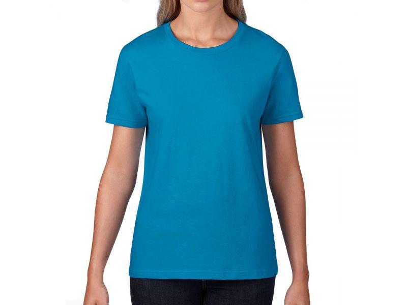 Gildan Premium Cotton női kerek nyakú pamut póló