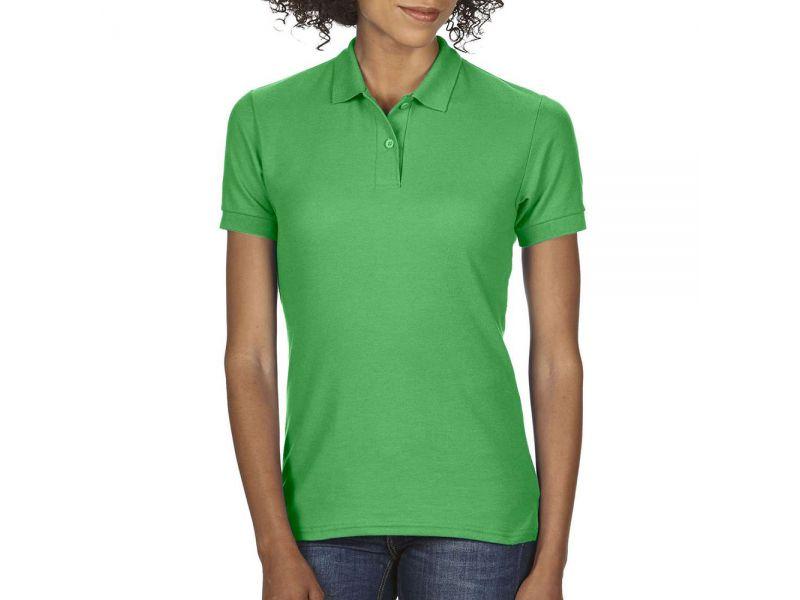 Gildan DryBlend női duplay piké póló