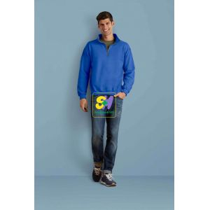 GI18800 - HEAVY BLEND™ ADULT VINTAGE CADET COLLAR SWEATSHIRT