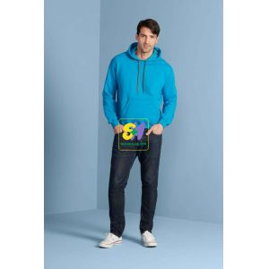 GI92500 - PREMIUM COTTON® ADULT HOODED SWEATSHIRT