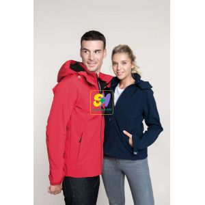 KA414 - LADIES' HOODED SOFTSHELL JACKET