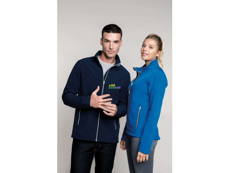 KA424 - MEN'S 2-LAYER SOFTSHELL JACKET