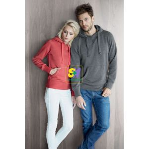 KA462 - MELANGE HOODED SWEATSHIRT