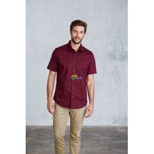 KA531 - MEN'S SHORT SLEEVE STRETCH SHIRT