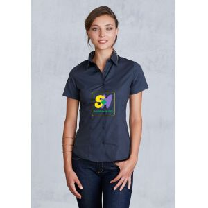 KA532 - LADIES' SHORT SLEEVE STRETCH SHIRT