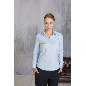 KA534 - LADIES' LONG SLEEVE EASY CARE OXFORD SHIRT