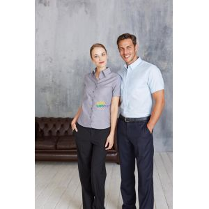 KA536 - LADIES' SHORT SLEEVE EASY CARE OXFORD SHIRT