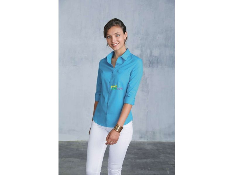KA558 - LADIES' 3/4 SLEEVE SHIRT