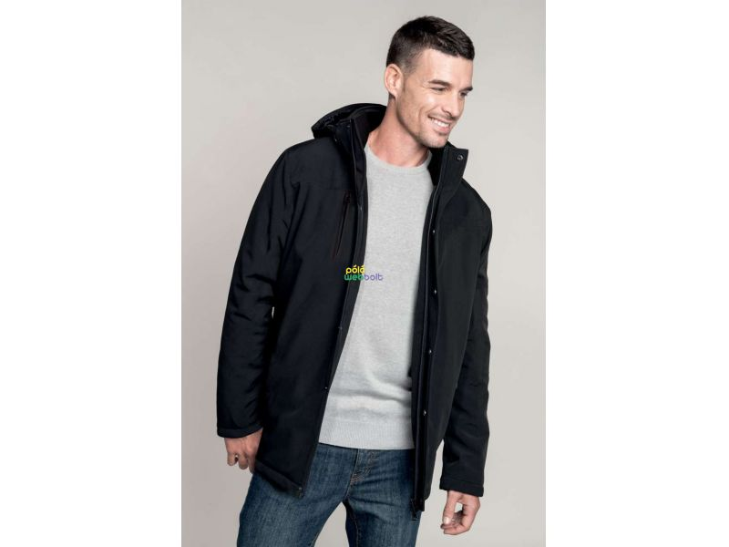 KA656 - REMOVABLE HOODED PARKA
