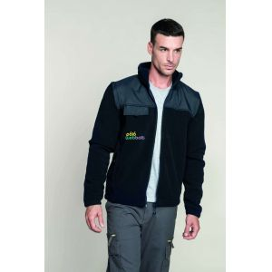 KA9105 - FLEECE JACKET WITH REMOVABLE SLEEVES