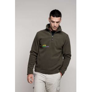 KA912 - ENZO - ZIP NECK MICRO FLEECE TOP