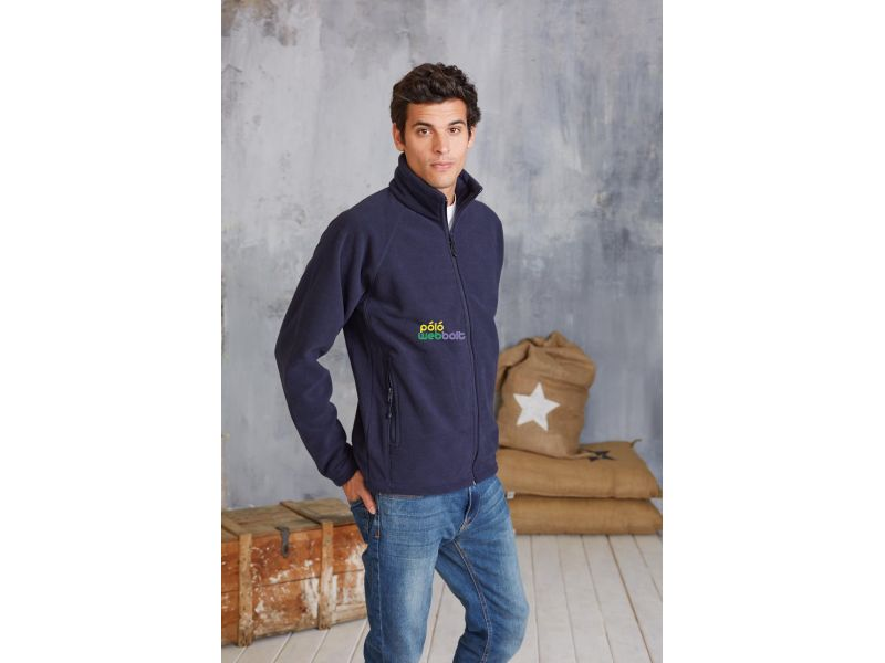 KA917 - MARCO - FULL ZIP  MICRO FLEECE JACKET