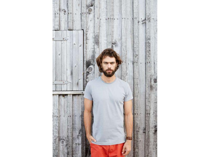 Kariban KV2104 férfi rövid ujjú vintage pamut póló