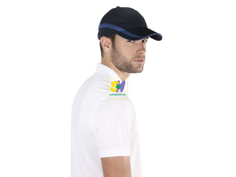 KP063 - TEAM - 6 PANEL BI-COLOUR CAP