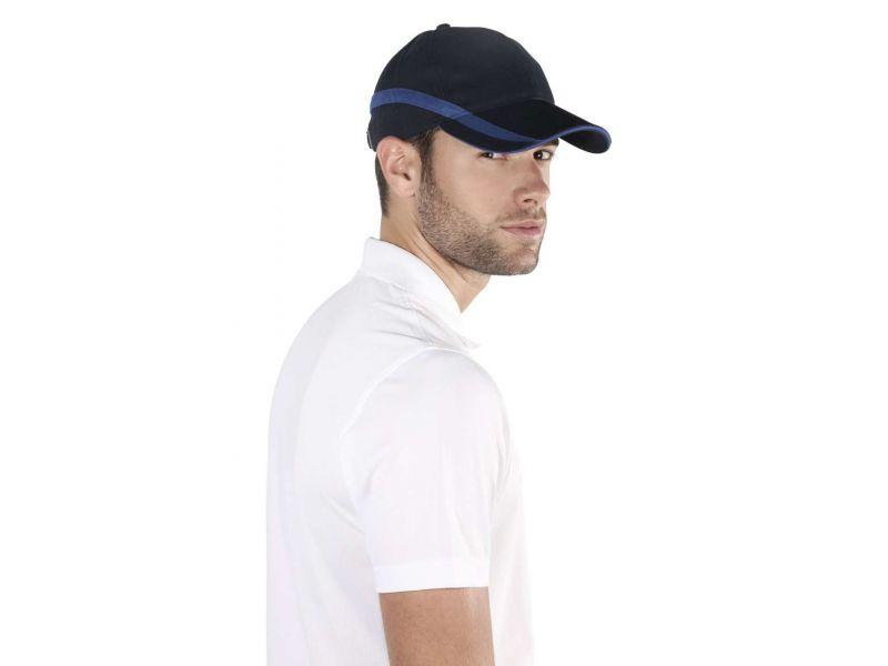 KP063 - TEAM - 6 PANEL BI-COLOUR CAP