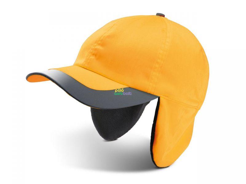 KP122 - FLUORESCENT WINTER CAP - 6 PANELS