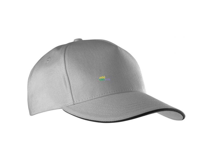 KP130 - SANDWICH PEAK CAP - 5 PANELS