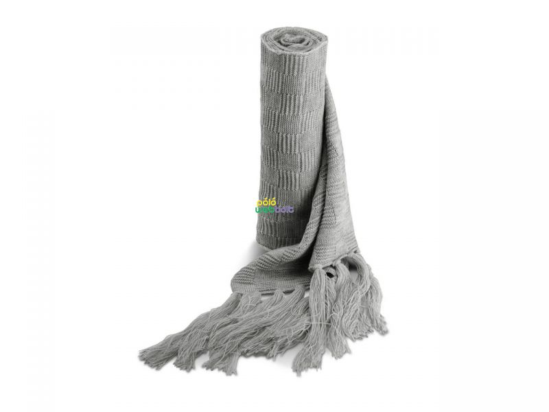 KP402 - JACQUARD KNITTED SCARF