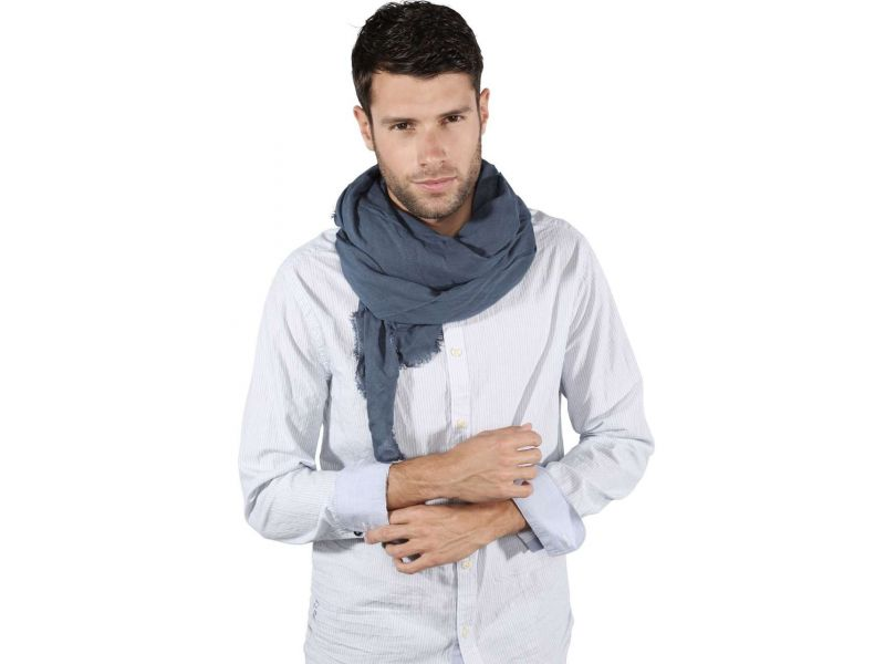 KP405 - WOVEN SQUARE SCARF
