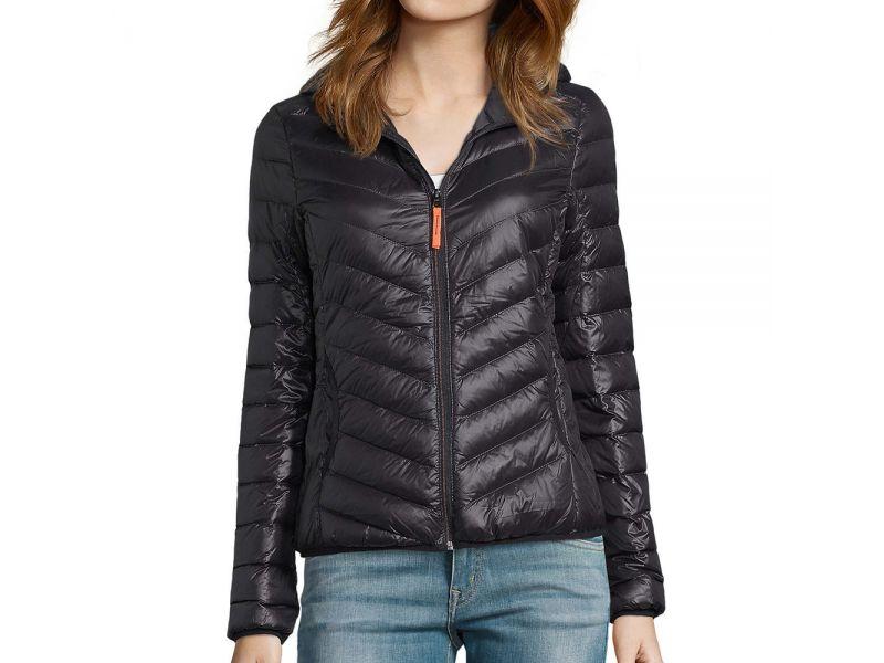 Sol's Ray női könnyű párnázott kapucnis dzseki