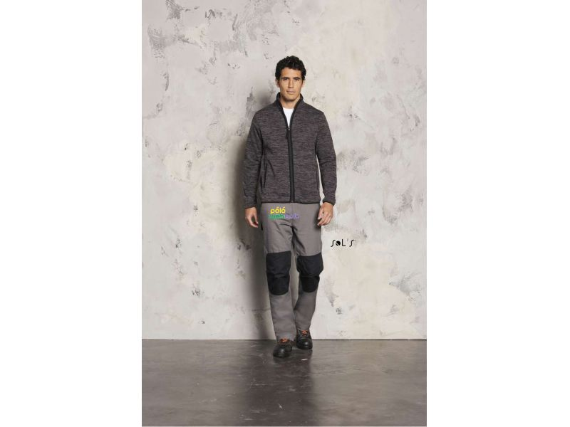 SO01652 - TURBO KNITTED FLEECE JACKET