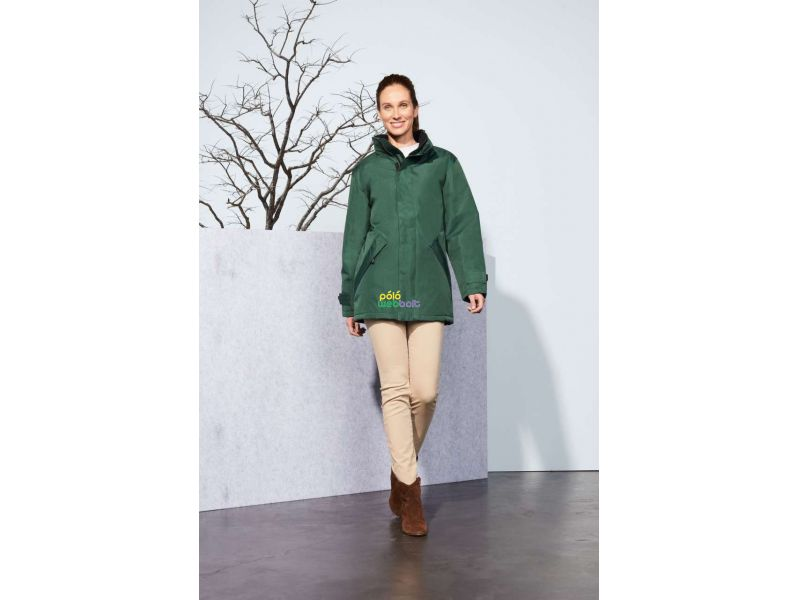 SO43400 - RIVER UNISEX PARKA WITH QUILTED LINING