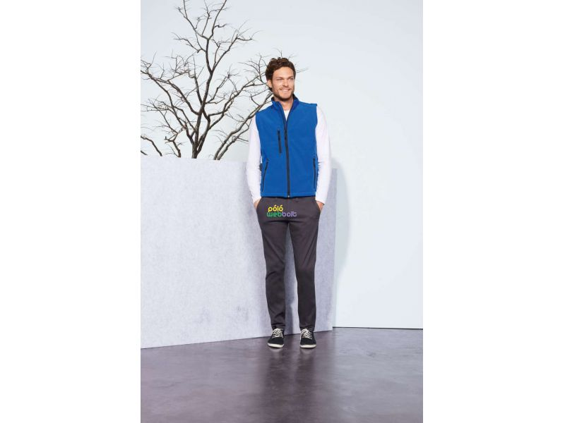 SO46601 - RALLYE MEN SLEEVELESS SOFTSHELL JACKET
