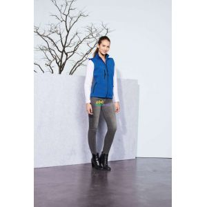 SO46801 - RALLYE WOMEN' SLEEVELESS SOFTSHELL JACKET