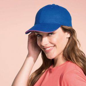 SO88100 - BUFFALO SIX PANELS CAP