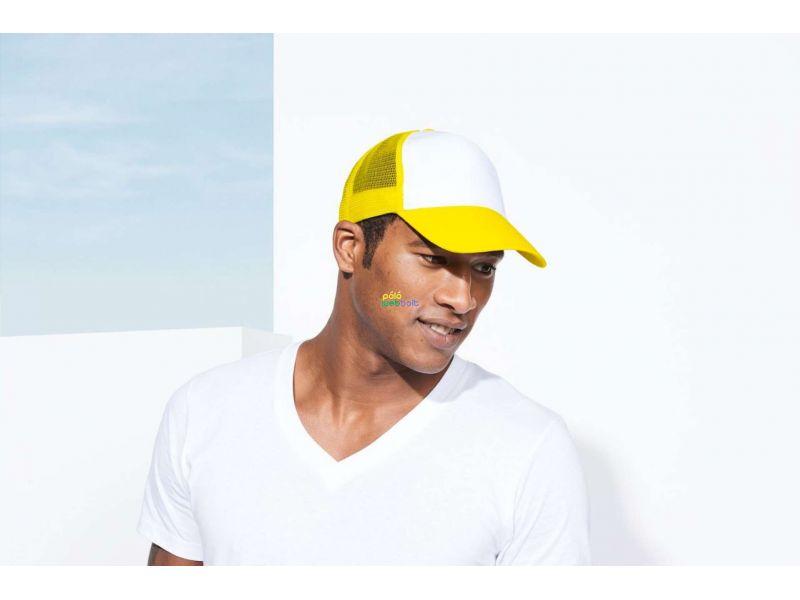 SO88107 - BULL FIVE PANEL CAP WITH MESH